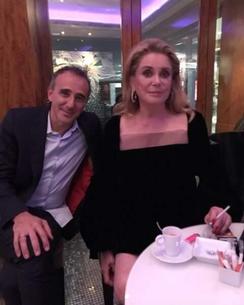 Elie Semoun très bien entouré pour son anniversaire
