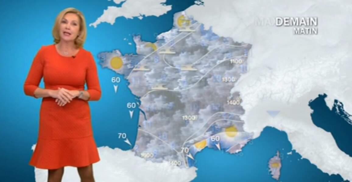 Si vous préférez, il y a la robe de cette présentatrice de la météo sur France 3...
