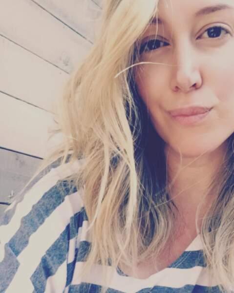 Entre deux photos parfaites, Haylie Duff se dévoile parfois au naturel sur Instagram