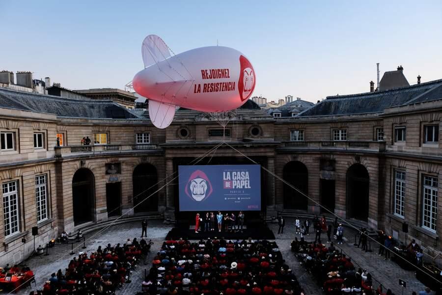 La Casa de Papel a créé l'événement à la Monnaie de Paris