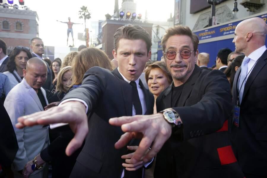 Et a retrouvé son partenaire à l'écran : Robert Downey Jr.