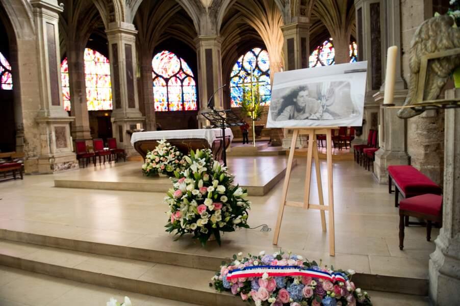 L'autel de l'Eglise où s'est tenue la cérémonie