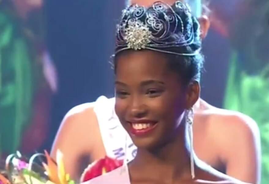 Et pour finir, voici Morgane Edvige, miss Martinique 2015
