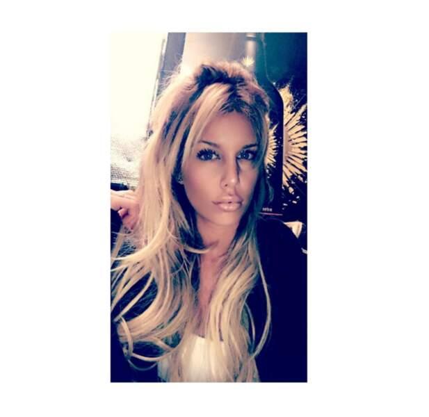 Ni cette tête d'Adixia postée sur Instagram. Méconnaissable :'(