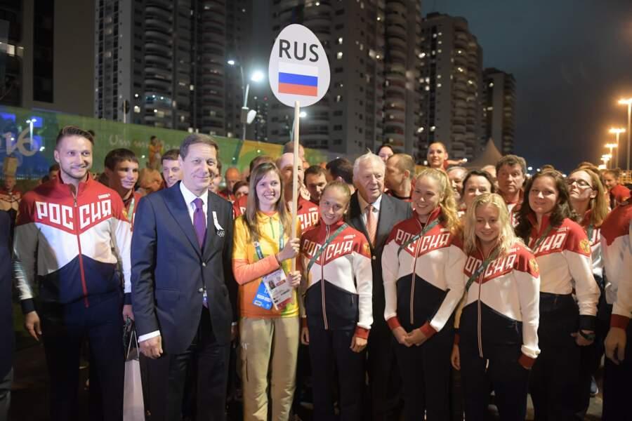 Oui, la Russie est bien présente à Rio