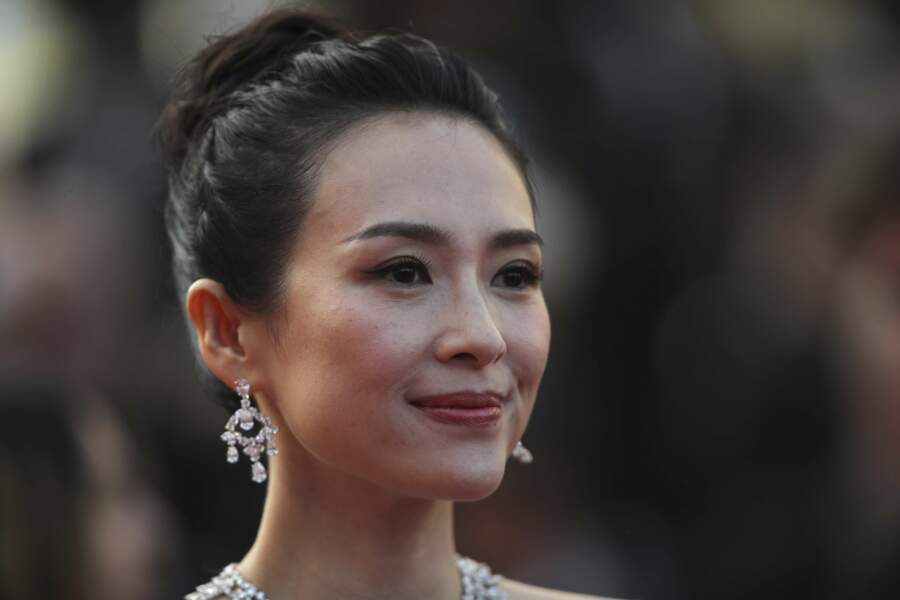 L'actrice chinoise Xu Qing