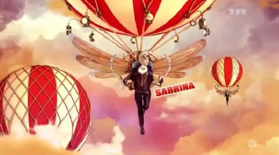 """Sabrina (Saison 5). Son secret : """"Je vis avec les poumons d'un autre"""""""