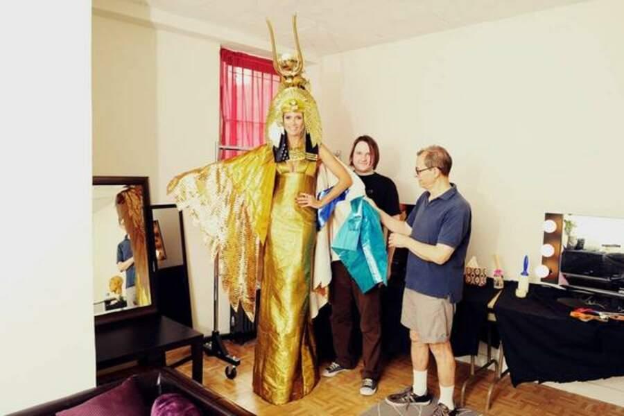 Chaque année, Heidi Klum est la reine d'Halloween mais ça n'a jamais été aussi vrai !