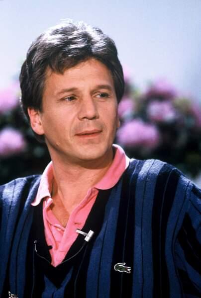 """Toujours en 1988, Gérard Lenormand représente la France avec le titre """"Chanteur de charme"""""""