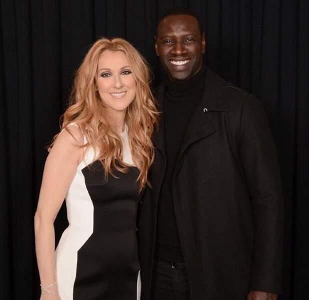 Deux rencontres improbables : Omar Sy et Céline Dion à Las Vegas.