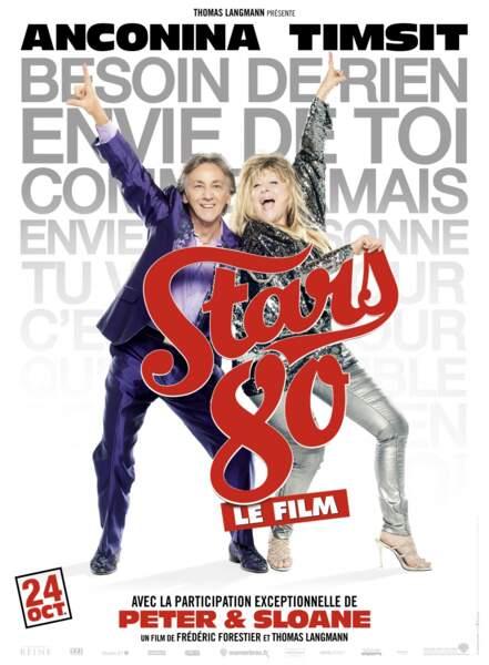 Peter et Sloane font partie des invités du film Stars 80