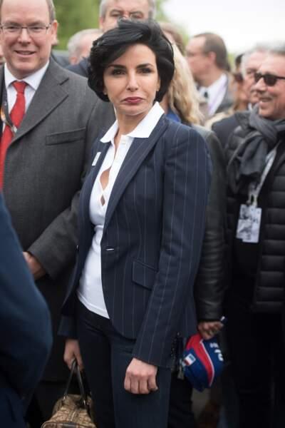 Rachida Dati, ancienne ministre sous Nicolas Sarkozy, a eu sa petite Zohra à 42 ans.