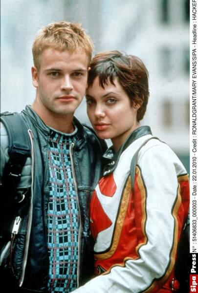 L'un de ses premiers rôles, à 20 ans, dans Hackers (1995) avec Jonny Lee Miller...