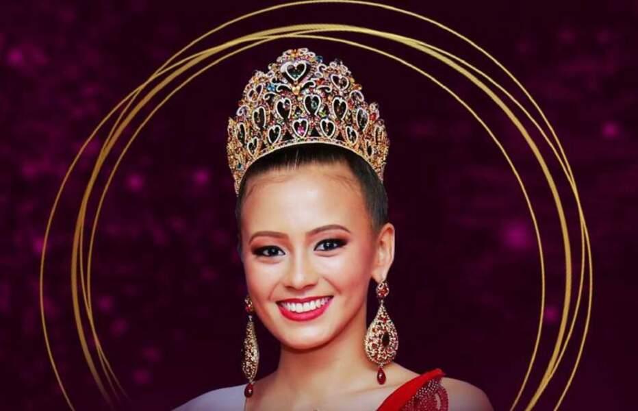 Miss Sri Lanka : Nadia Gyi
