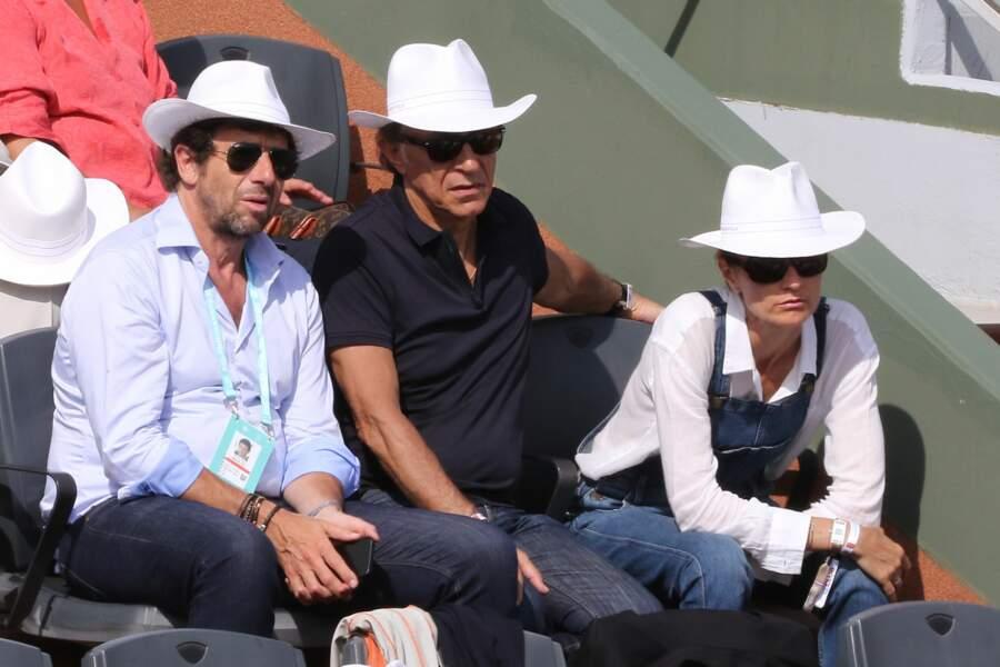 Patrick Bruel, Richard Berry et son épouse Pascale Louange