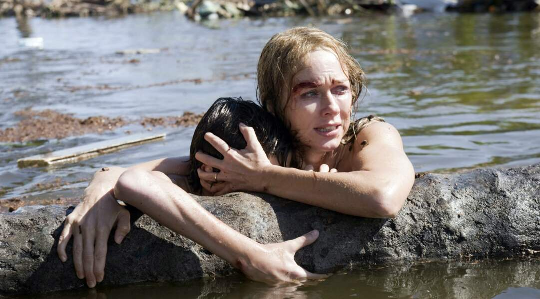 The Impossible : Naomi Watts prend l'eau.