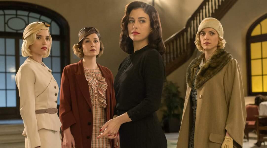 Voici Ana Fernandez, Nadia de Santiago, Blanca Suarez et Maggie Civantos dans Les Demoiselles du Téléphone