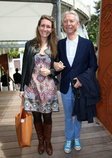 Les journalistes made in TF1 Anne-Claire Coudray et Jean-Claude Narcy