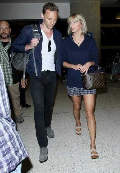 Taylor Swift and Tom Hiddleston, en couple depuis cette année.
