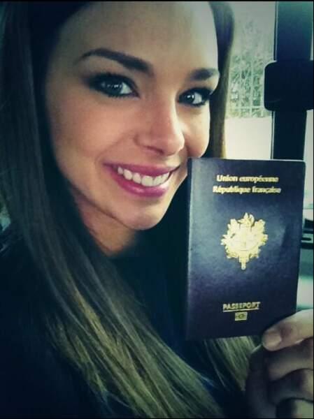 Marine Lorphelin et son passeport : direction le Sri Lanka !