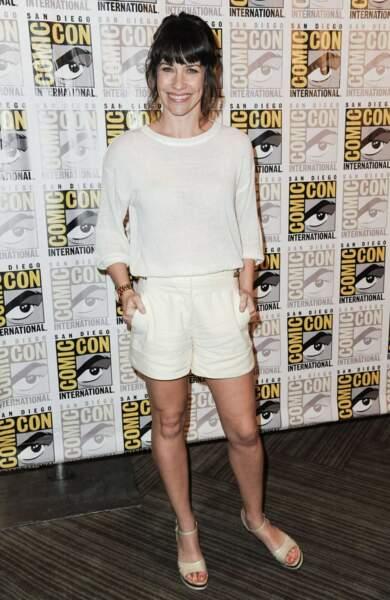 Somptueuse Evangeline Lilly lors du Comic-Con en juillet 2014 !