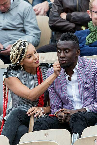 Loin des stades de foot, Blaise Matuidi et sa femme Isabelle
