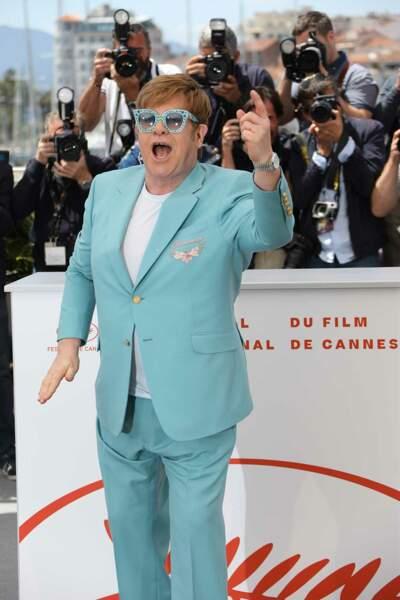 Et Sir Elton est déjà en forme !