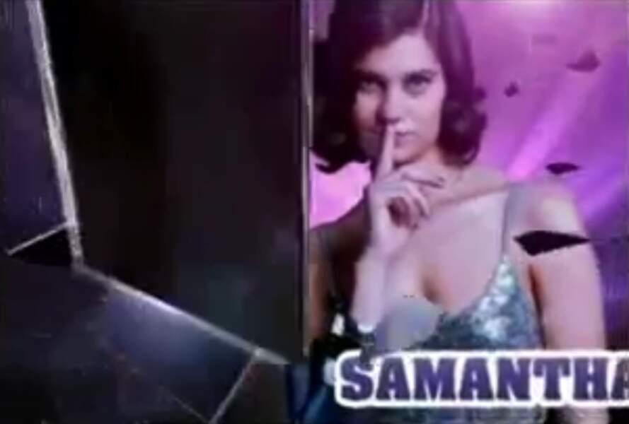 """Samantha (Saison 2). Son secret : """"Nous sommes en couple"""" (avec Nathalie)"""