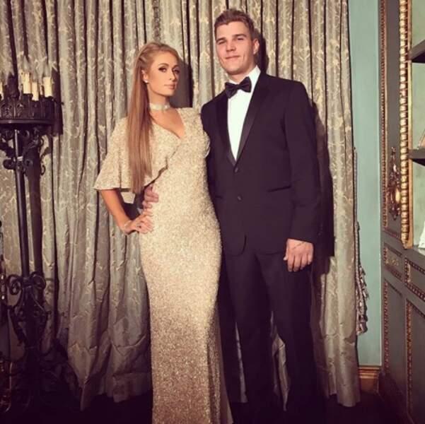 La businesswoman Paris Hilton et l'acteur Chris Zylka.
