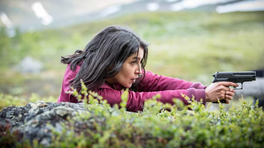 Leila Bekhti dans le polar polaire Jour polaire