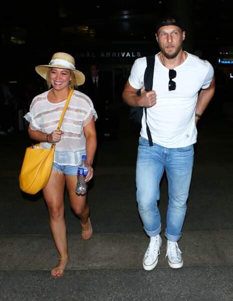 La chanteuse Hilary Duff et Jason Walsh, en couple depuis cette année.