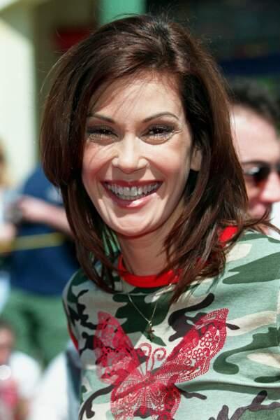 Teri Hatcher, tout sourire