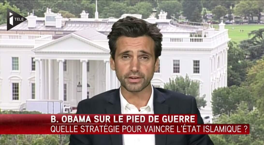 Grand reporter à iTÉLÉ, Guillaume Auda assure la couverture de nombreux évènements