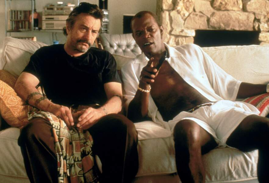 Devant l'objectif de Quentin Tarantino pour Jackie Brown (1997)