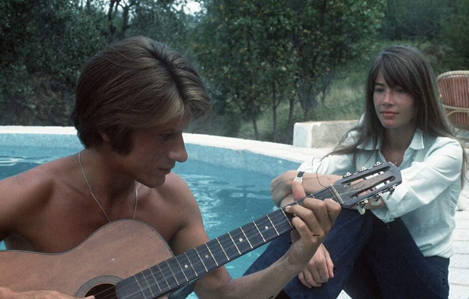 Françoise Hardy et Jacques Dutronc ont eux aussi travaillé et vécu ensemble