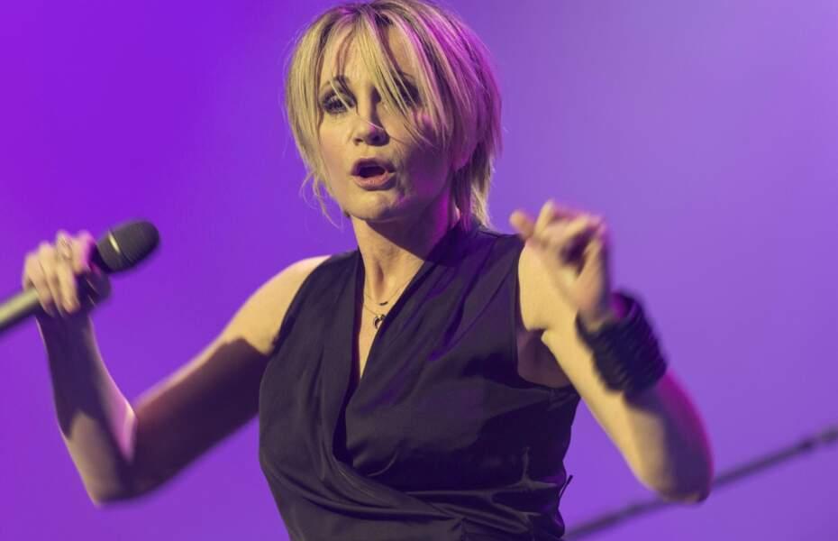 Patricia Kaas, née le 5 décembre 1966.