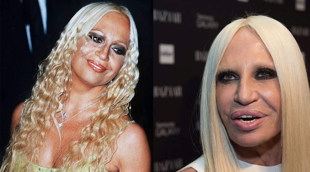La styliste Donatella Versace. Sans commentaire.