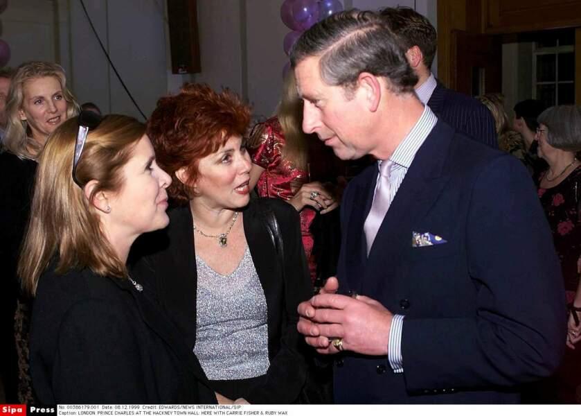 Rencontre à Londres avec la Prince Charles en 1999