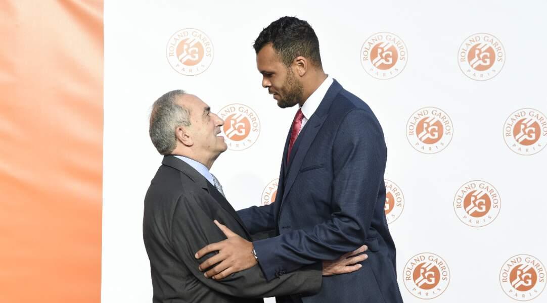 Jean Gachassin accueille Jo-Wilfried Tsonga