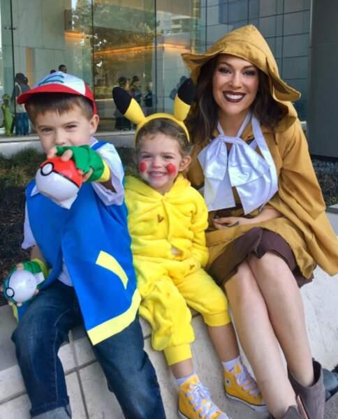 Alyssa Milano et ses enfants ont fêté un Halloween 100% Pokémon GO.