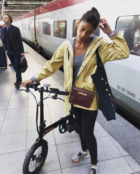 Tatiana Silva fait désormais partie du gang des cyclistes.