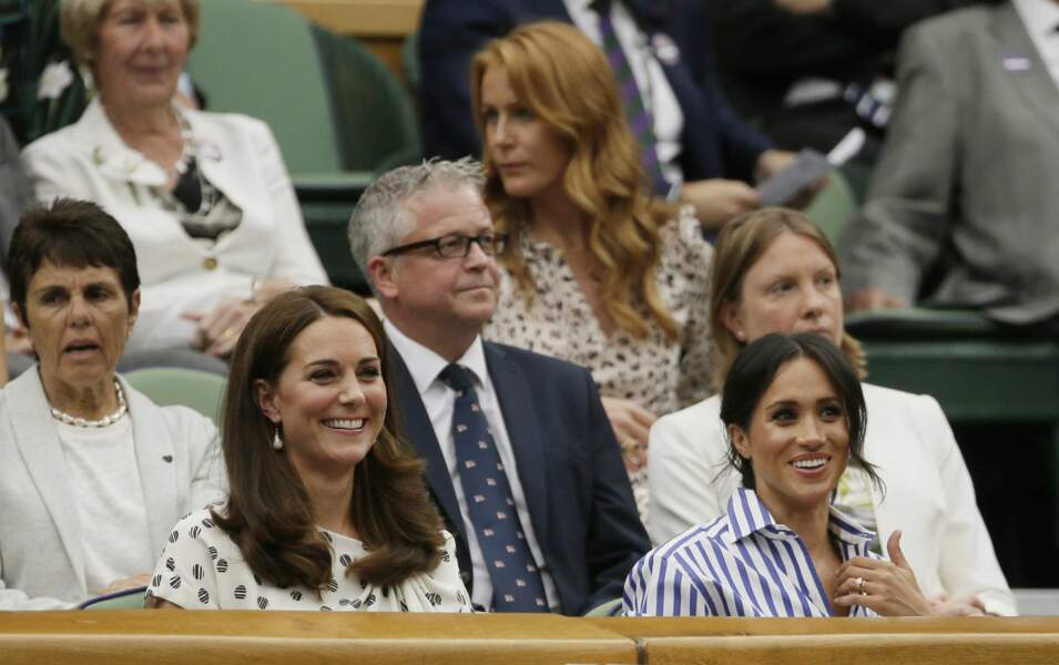 Kate Middleton et Meghan Markle ont regardé les matchs…