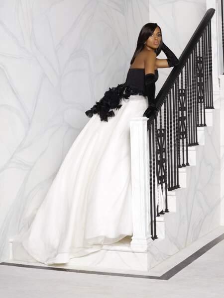 L'actrice Kerry Washington porte la toilette à merveille