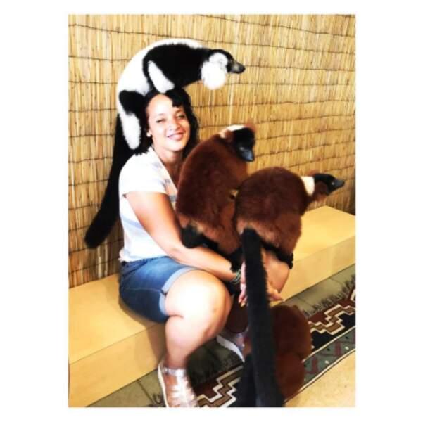 Nous aussi on veut rencontrer des lémuriens comme Dascha Polanco.