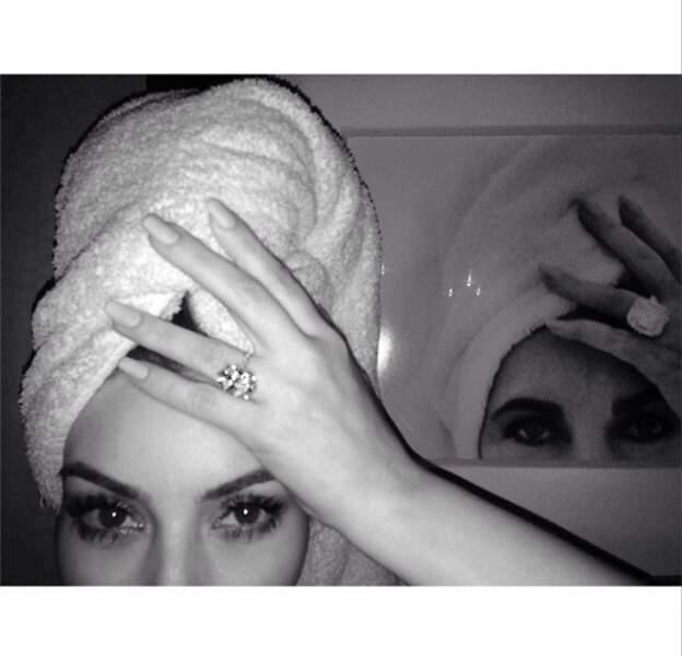 N'oublions pas Kim Kardashian qui se prend pour Elizabeth Taylor, rien que ça !