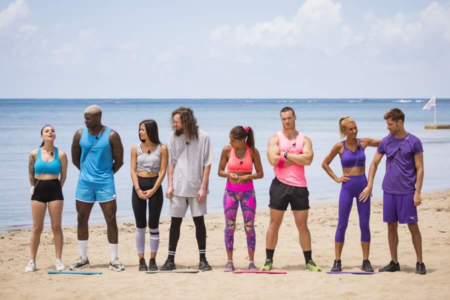 … Olivia et Alex, Alizée et Maxime, Wafa et Oliver et Mélanie Dedigama et Vincent sont prêts à s'affronter