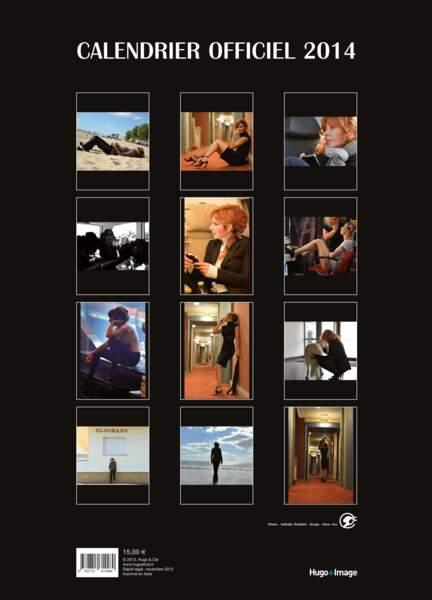 Sortie du calendrier 2014 de Mylène Farmer le 28 novembre prochain