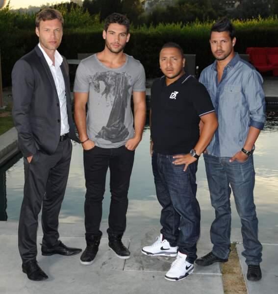 David Golis, Kevin Miranda, Kamel Djibaoui et Nicolas Suret, les mâles de la série