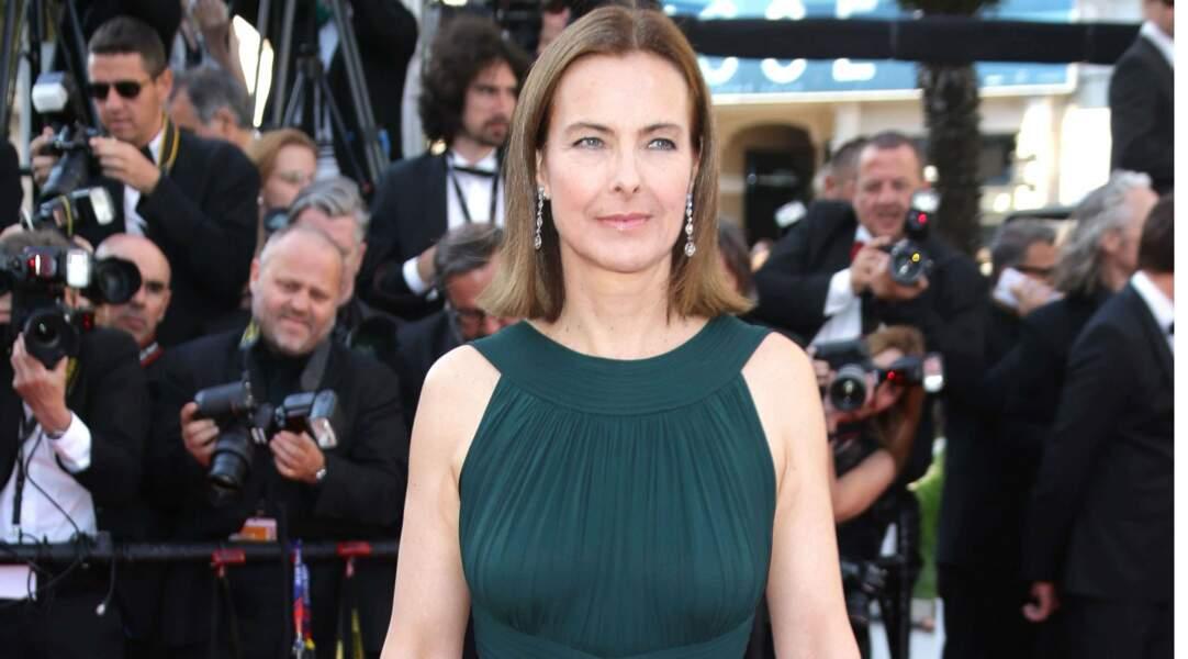 En 2015, Carole Bouquet pose à 58 ans pour les photographes à la projection du Petit prince au Festival de Cannes.