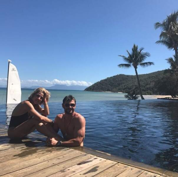 Elsa Pataky et son mari Chris Hemsworth profitent de leur Australie chérie.